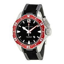 New Hamilton Khaki Navy Frogman Automatic Black Dial Men's Watch H77805335