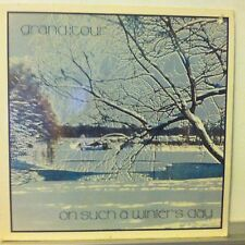 GRAND TOUR On Such A Winter's Day LP BLUE VINYL 1977 Butterfly disco VG+