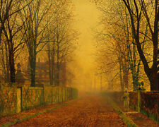Evening Glow John Atkinson Grimshaw  24'  CANVAS