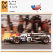 1966-1968 EAGLE T2G F1 Racing Classic Car Photo/Info Maxi Card