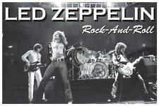 Led Zeppelin Rock And Roll Music Poster Print Jimmy Plant Page New 36x24 E15