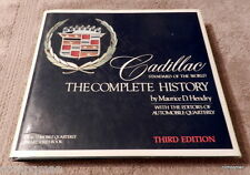 Cadillac The Complete History Maurice D. Hendry 3 Edition 1983 Bonanza Edition