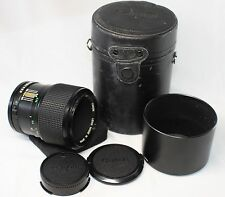 Very good Canon New FD 85mm F/2.8 Lens Softfocus Made In Japan w/ Lens Case
