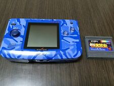 NeoGeo Pocket Color Camouflage Blue Handheld console