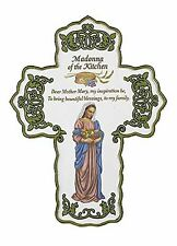 Madonna of the Kitchen Wall Cross (TC028) 6.5 Inches NEW