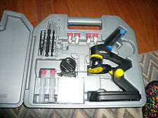 NATIONAL GEOGRAPHIC 100X1200X DIE-CAST MICROSCOPE SET WITH HARD CARRYING CASE