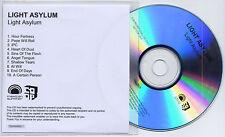 LIGHT ASYLUM Light Asylum UK 10-trk numbered promo test CD - No. 4 !