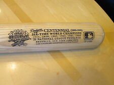 "Brooklyn /LA Dodgers 34""Limited Ed. 6 Time World Champions Baseball Bat-exc/mint"