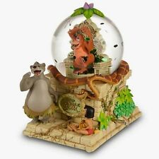 NIB Disney Store Exclusive Jungle Book Snowglobe - Mowgli, Kaa, Baloo