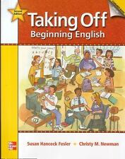 TAKING OFF, BEGINNING ENGLISH STUDENT BOOK + AUDIO HIGHLIGHTS + - NEW BOOK