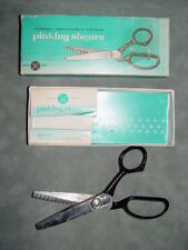 Cross Knife #7 Pinking Shears Scissors in Original Box