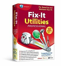 Fix-It Utilities 12 Professional PC CD Software 5 PCS OPEN BOX EXCELLENT COND
