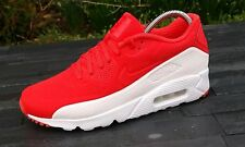 BNWB & 100% Genuine Nike Air Max 90 Ultra Moire Crimson Red Trainers UK Size 7.5