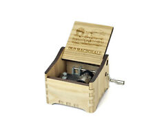 Old MacDonald Had a Farm / Personalized Hand Crank Music Box