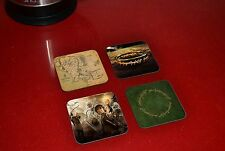 Lord Of The Rings Awesome Wooden Coaster Set