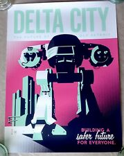 Robocop Delta City Tom Whalen Art Print Poster Limited Edition Mondo