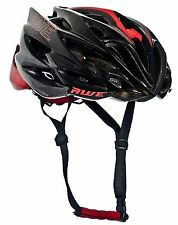 AWE® AWESpeed™ In Mould Adult Mens Road Cycling Helmet 58-62cm Black/Red