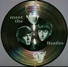 THE BEATLES, MEET THE BEATLES, 180G PICTURE DISC, EUROPEAN IMPORT VINYL LP