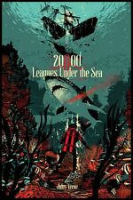 20,000 Leagues Under The Sea Raid71 Verne Bottleneck Nt Mondo Poster SOLD OUT