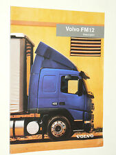 Catalogue  Camion  VOLVO  FM 12       1998    Brochure     Prospectus