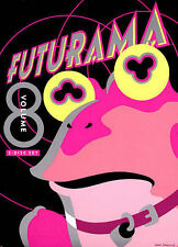 Futurama 8 DVD Region 1, NTSC