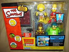 THE SIMPSONS WOS  TREE HOUSE OF HORRORS COLLECTORS LAIR  EXCLUSIVE PLAYSET