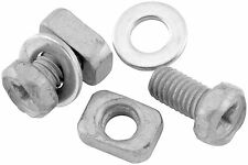 BikeMaster - B-04 - Battery Bolt 6x10mm Bolt/Rectangle Nut (2 Sets)~