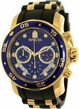 Invicta Men's Pro Diver 21929 Gold Rubber Quartz Watch