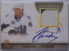 2010-11 SP Authentic Limited AUTO PATCH Autograph Steven Stamkos 12/25 Lightning