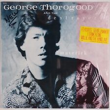 GEORGE THOROGOOD and the DESTROYERS: Maverick SHRINK USA Rounder LP NM-