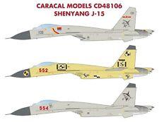 Caracal 1/48 Shenyang J-15 (Su-33) # 48106