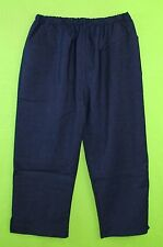 Look like denim sz 8 Womens Blue Capris Cropped Pants Slacks Stretch 5J77