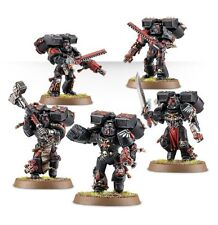 Warhammer 40000 41-07 Blood Angels Death Company 5 x Mini Figures Kit T48 Post