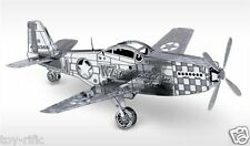 METAL EARTH - P-51 MUSTANG PLANE - 3D METAL MODEL KIT - BRAND NEW & SEALED!
