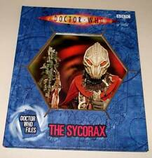 DOCTOR WHO Files : The SYCORAX  Hardback Book BBC 2006