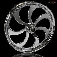 "Harley Davidson Street Glide 21"" Inch Custom Chrome Wheel ""Ripper"" Harley Wheels"