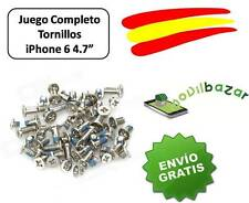 "SET SET PACK KIT LOTTO VITI COMPLETO IPHONE 6 6G 4.7"" NUOVO . SPAGNA"