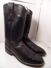 Womens Justin Diamond J Roper Black Booots Womens Size 5.5 B 79381