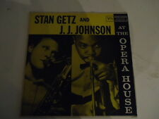 Stan Getz And J.J. Johnson ‎– At The Opera House - Verve Records ‎- Vinyl LP