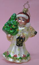 2003 CHRISTOPHER RADKO ANGEL GLOW GLASS CHRISTMAS ORNAMENT
