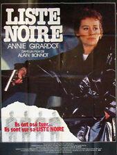 Affiche 120x160cm LISTE NOIRE (1984) Annie Girardot, Paul Crauchet, Brieux NEUVE