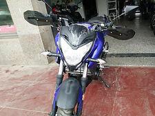 Motorcycle ABS Hand Guard Protector Wind DIY Deflector For Yamaha Mirror Smoke