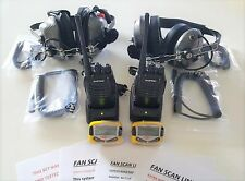 NASCAR HEADSET FANSCAN LINK AND TALK WIRELESS w/ RACECEIVER SCANNERS