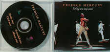FREDDIE MERCURY - LIVING ON MY OWN -  MAXI CD (O82)