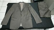 Hugo Boss 2btn dual vented 'The Sweet/Sharp ' green olive wool suit 42R EUC