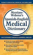 Merriam-Webster's Spanish-English Medical Dictionary by Inc. Staff...