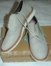 TOMS Men's Brogue Wingtip Taupe Leather Size 12
