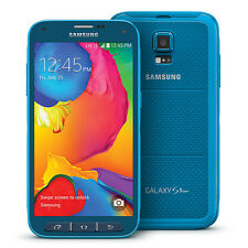 Samsung Galaxy S5 SPORT BLUE Phone for Sprint or RingPLUS TING FreedomPOP 4G LTE