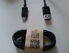 CAVO USB DATI CARICABATTERIA CAVETTO NERO 100 CM NOKIA LUMIA 610
