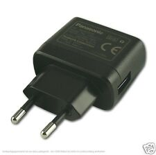 Genuine Panasonic USB European EU Wall Charger For all Cameras and Camcorders